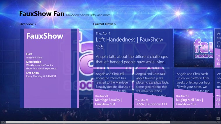 FauxShow Fan follow