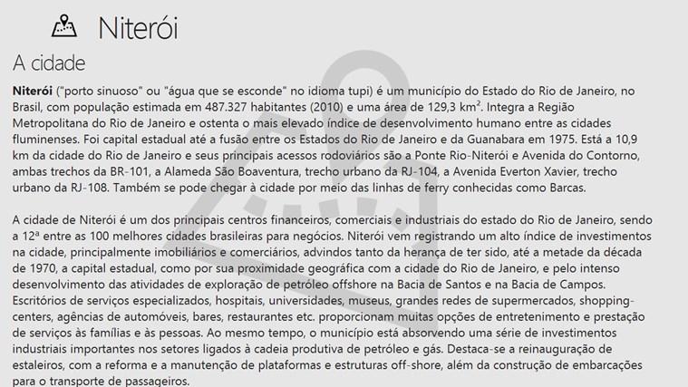 Places - Niterói