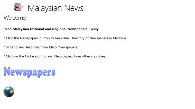 Malaysian News newspapers