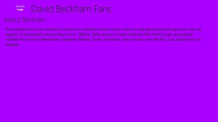 David Beckham Fans beckham united