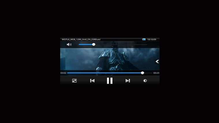 VLC 8.1 HD Player Pro* start video
