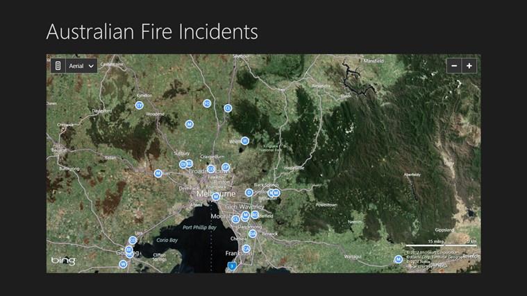 Australian Fire Incidents