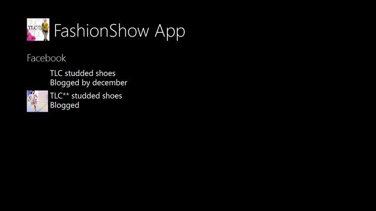 Fashionshow App