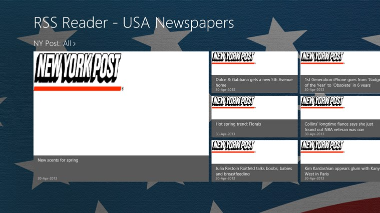 USA Newspapers RSS newspapers