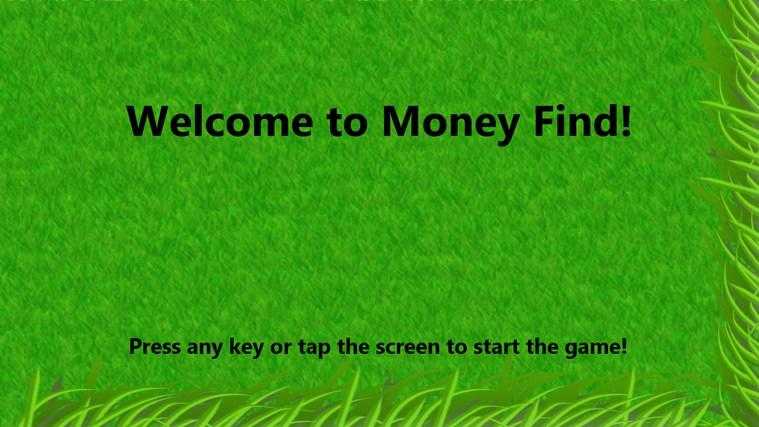 Money Find Game money tutorial