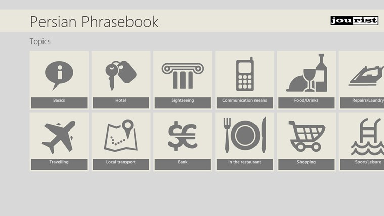 Persian Phrasebook persian winpim