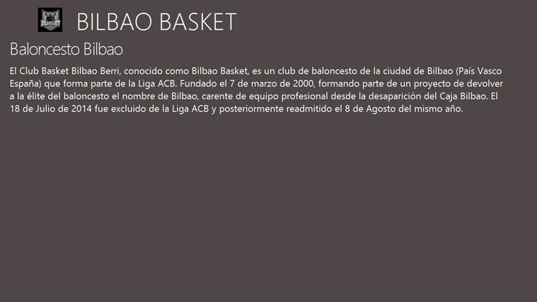 BILBAO BASKET FanHub