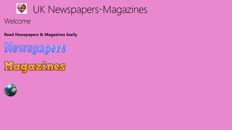 UK Newspapers & Magazines newspapers