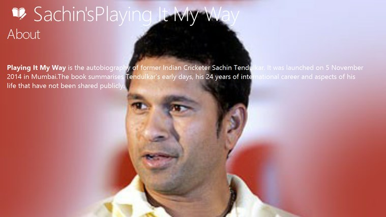 Sachin's Playing it my way dvd playing