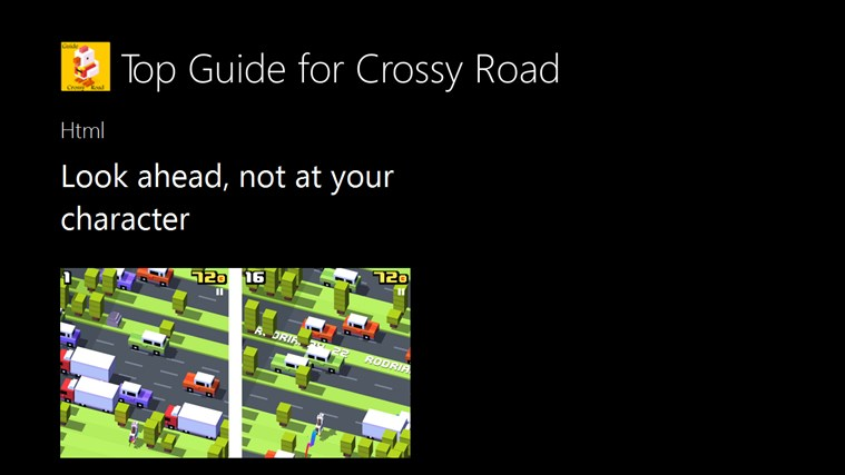 Top Guide for Crossy Road