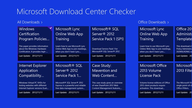 microsoft download center Members download center download pdf versions of the monthly update research digest, as well as recent versions of the microsoft enterprise software roadmap, featured research reports.