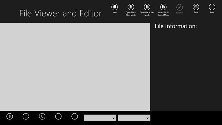 File Viewer and Editor - Silver Edition CS2