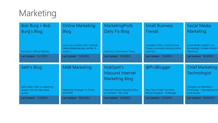 Marketing marketing ministries