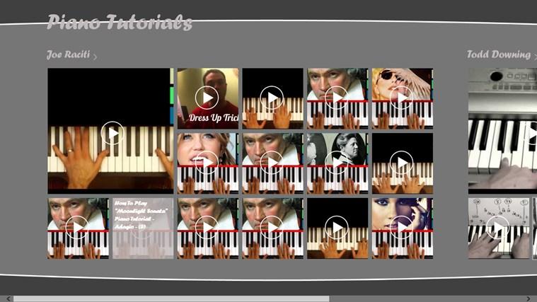 Piano Tutorials dvd start