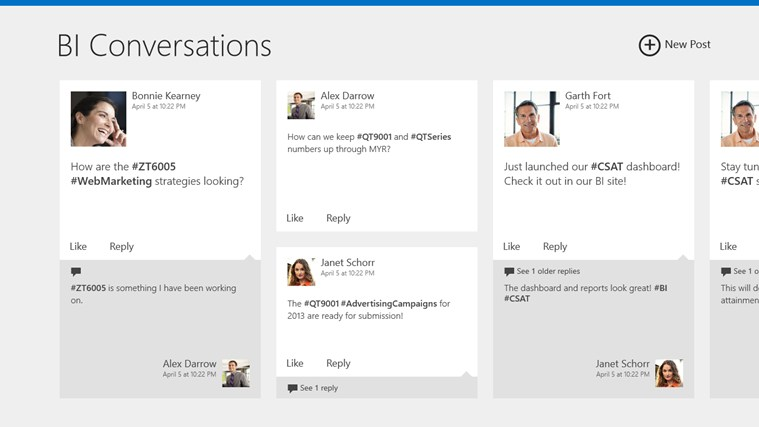 SharePoint Newsfeed