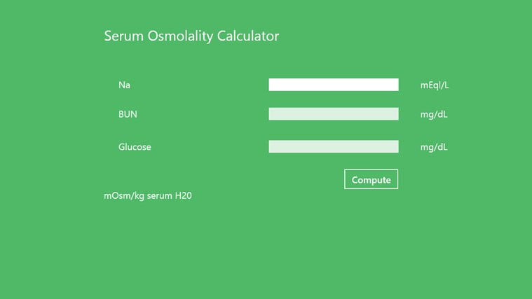 Serum_Osmolality Finder