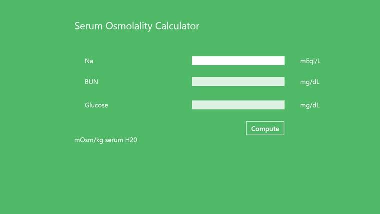 Serum_Osmolality Finder