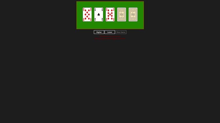 Poker High Low