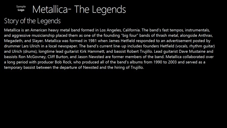 Metallica- The Legends