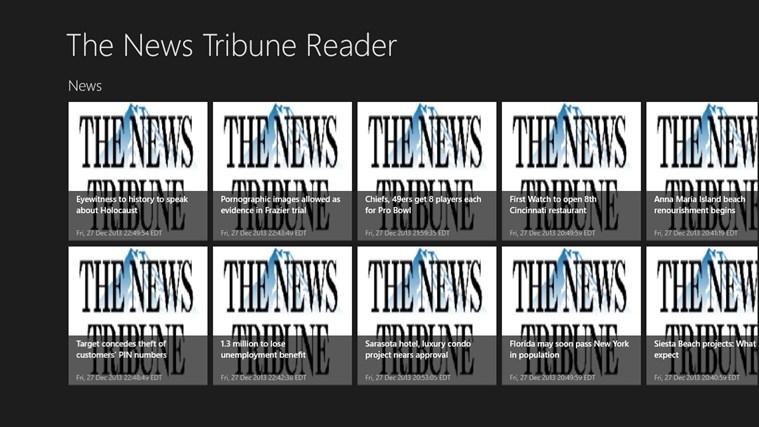 The News Tribune Reader tribune world