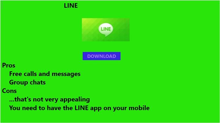 Line Calling bingo calling card