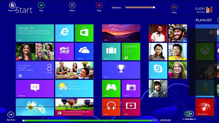 Windows 8 VLC3 Player vlc