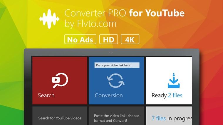 Converter 4K HD for YouTube by Flvto flvto